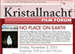 "12th Annual Kristallnacht Film Forum to Screen ""No Place on Earth"" with Cave Discoverer and Survivors, and Honor the Kwal Family"