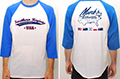 Baseball T-Shirts with Logo & Flags (Small)