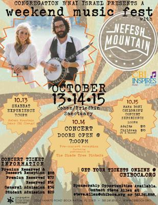 Weekend Music Fest with Nefesh Mountain
