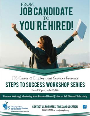 Steps to Success Workshop: Wrap-up & Headshots