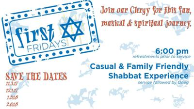 Congregation B'nai Israel - First Friday Shabbat