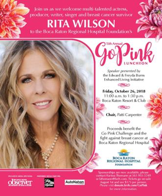 15th Annual Go Pink Luncheon