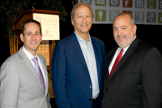 B&P Kicks Off Icon Series with Lewis Katz, Former Owner of NJ Nets/Devils (October 16, 2013)