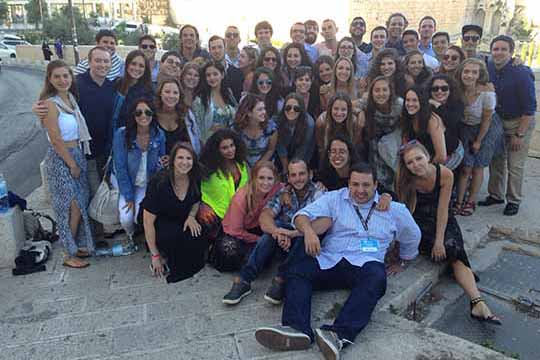 Local Young Adults Discover Israel on 2015 Birthright Community Trip (July 2015)