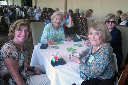 Everyone Wins at Boca Pointe Card Party & Games Day (March 23, 2015)