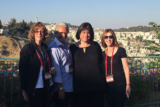 Federation Leaders Find Inspiration in Tbilisi and Israel
