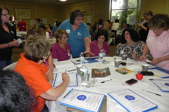 Congregational Religious School Educators Start Their Year with Inspiration at Local Conference (August 30, 2015)