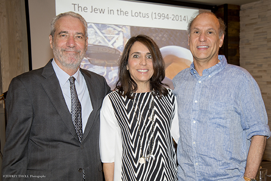 "EJP Enjoys Dinner, Drinks and Dialogue with ""Jew in the Lotus"" Author (May 28, 2015)"