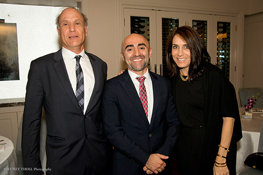 "Emerging Jewish Philanthropists (EJP) Major Gifts ""After Party"" Goes In-depth with Middle East Expert"
