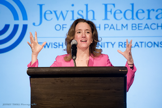 Middle East Expert Laura Blumenfeld Headlines JCRC Forum on Israel and America (February 17, 2016)