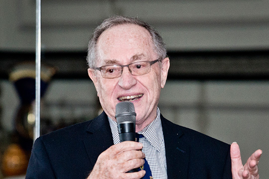 King David Society Donors Enjoy Intimate Dinner with Alan Dershowitz (March 24, 2016)