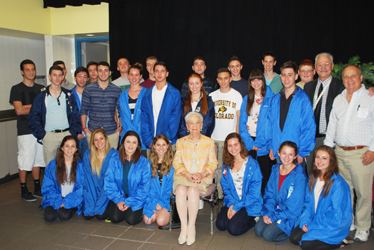 Powerful Movie Screened, Ruth Taubman Honored at Kristallnacht Film Forum (November 9, 2014)