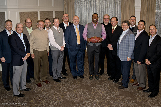 Men's Division Scores Big at Sports Night with Cris Carter (November 19, 2014)