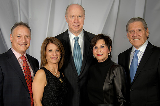 Elegance, Inspiration & Insights with David Gergen at Record-breaking Sandler Family Major Gifts Event (December 5, 2013)