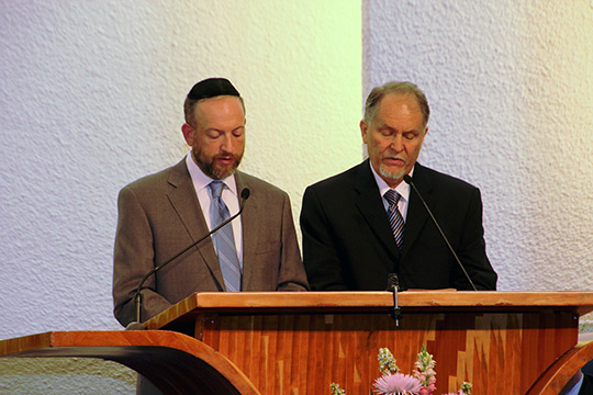 "March of Remembrance Unites Christian and Jewish Communities to ""Never Forget"" (April 27, 2014)"
