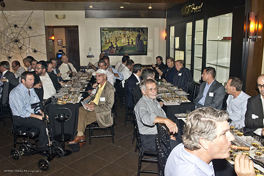 Men's Sip and Savor Event a Rousing Success (October 29, 2015)
