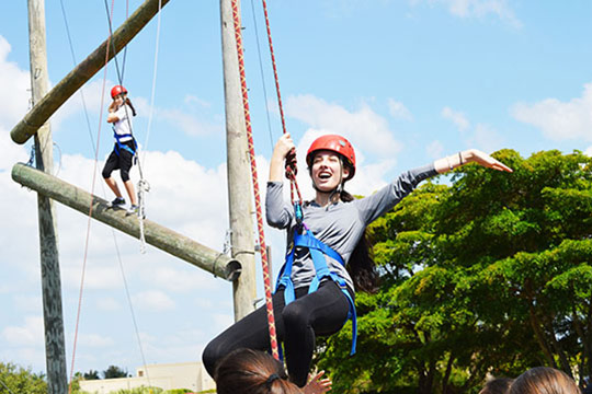 Federation Helps DKJA and WYHS Students Build Teams with Outward Bound (May 20, 2015)