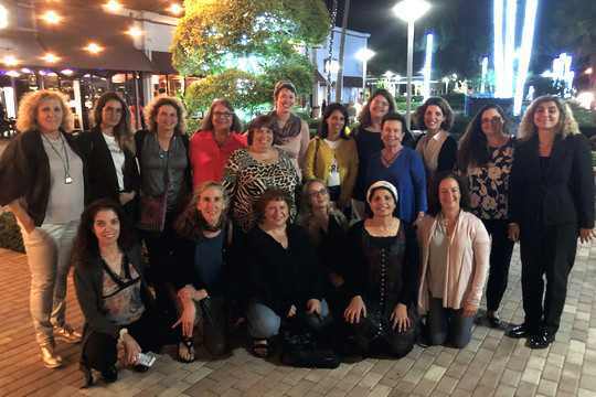 Partnership 2Gether Educators Visit from Zichron Yaakov