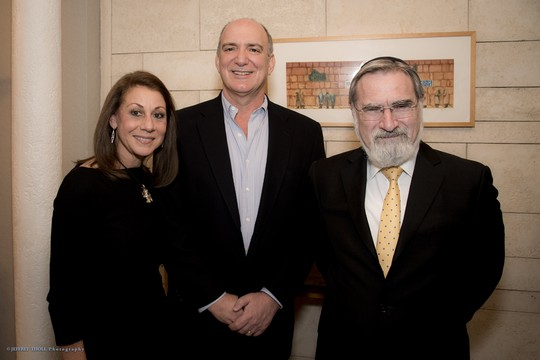 Prime Philanthropists Meet Leading Jewish Voice of Our Time