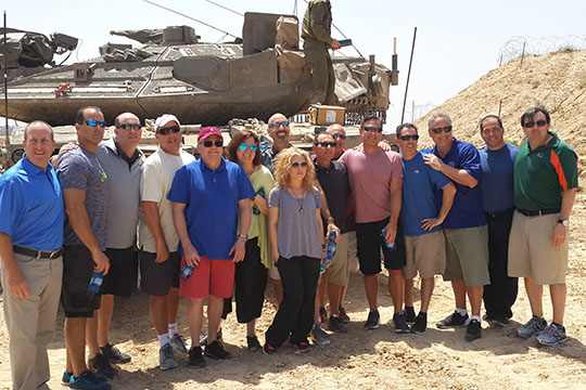 PAC Powers Up with Impact Israel Mission (April 19-26, 2015)