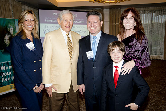 Adam Bankier Honored at 2015 PAC Mitzvah Society Reception (March 3, 2015)