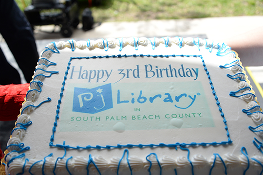 PJ Library® in South Palm Beach County Celebrates 3rd Birthday!