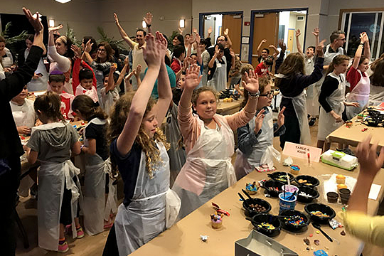 Kids Get Competitive During the PJ Library® Cupcake Wars