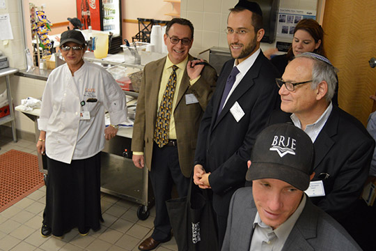 Community Rabbis Tour Federation Campus (October 20, 2015)