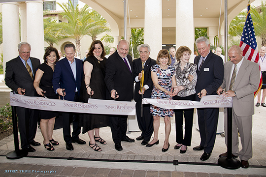 Hundreds Gather at Federation to Celebrate Grand Opening of Sinai Residences (May 3, 2016)