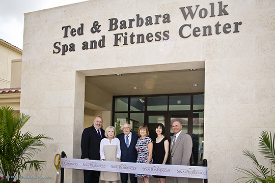 A Grand Opening for the Ted & Barbara Wolk Spa and Fitness Center at Sinai Residences of Boca Raton (June 22, 2016)