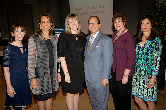 Women's Philanthropy Celebrates Leaders as Judi Schuman Takes the Gavel (March 31, 2014)