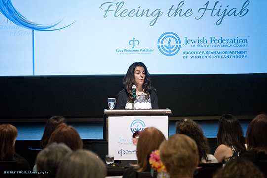 Women Hear Riveting Author of Fleeing the Hijab: A Jewish Woman's Escape from Iran at Spring Education Day