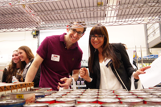 Young Adult Division (YAD) Members Spend a Night Giving Back (November 20, 2014)