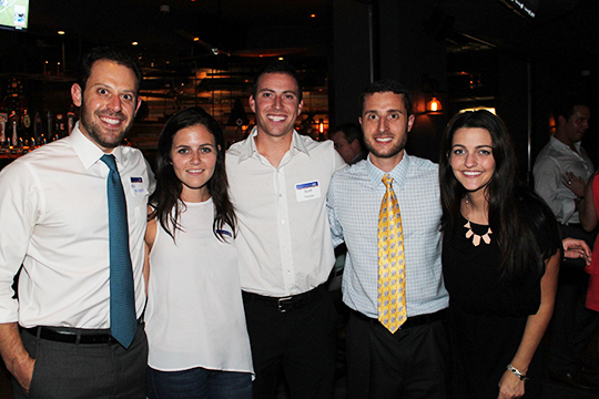YAD Helps the Hungry at Tap 42 Happy Hour (Sept. 24, 2015)
