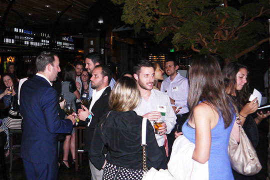 YAD HAPPY HOUR BOASTS HUGE CROWD (May 7, 2015)