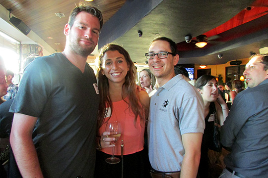Young Adults Wander to Blue Martini for Happy Hour (April 24, 2014)