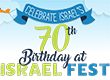 Thousands to Celebrate Israel@70 at Free Israel Fest in Mizner Park on April 18