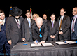 Federation Hosts Governor Scott's Signing Ceremony for Bill Fighting BDS