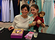 "Girls, Moms, Grandmas Enjoy Afternoon Tea with PJ Library® and American Girl ""Rebecca Books"" Author at Lord & Taylor"