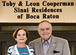 "Toby & Leon Cooperman Sinai Residences Celebrates Opening of ""Health Care Center"" on Federation Campus"