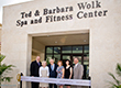 A Grand Opening for the Ted & Barbara Wolk Spa and Fitness Center at Sinai Residences of Boca Raton