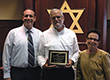 Federation's School Educational Services Director Presents Prestigious Grinspoon Award to Hillel Day School Educator
