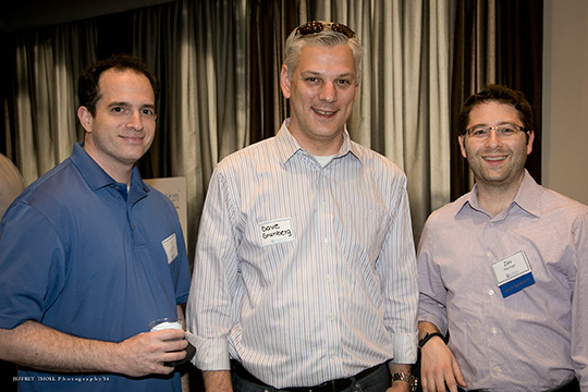 A Hundred Professionals Head to B&P Happy Hour for Premium Networking (May 8, 2014)